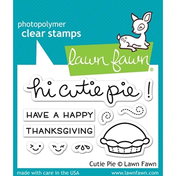 Lawn Fawn CUTIE PIE Clear Stamps LF1210