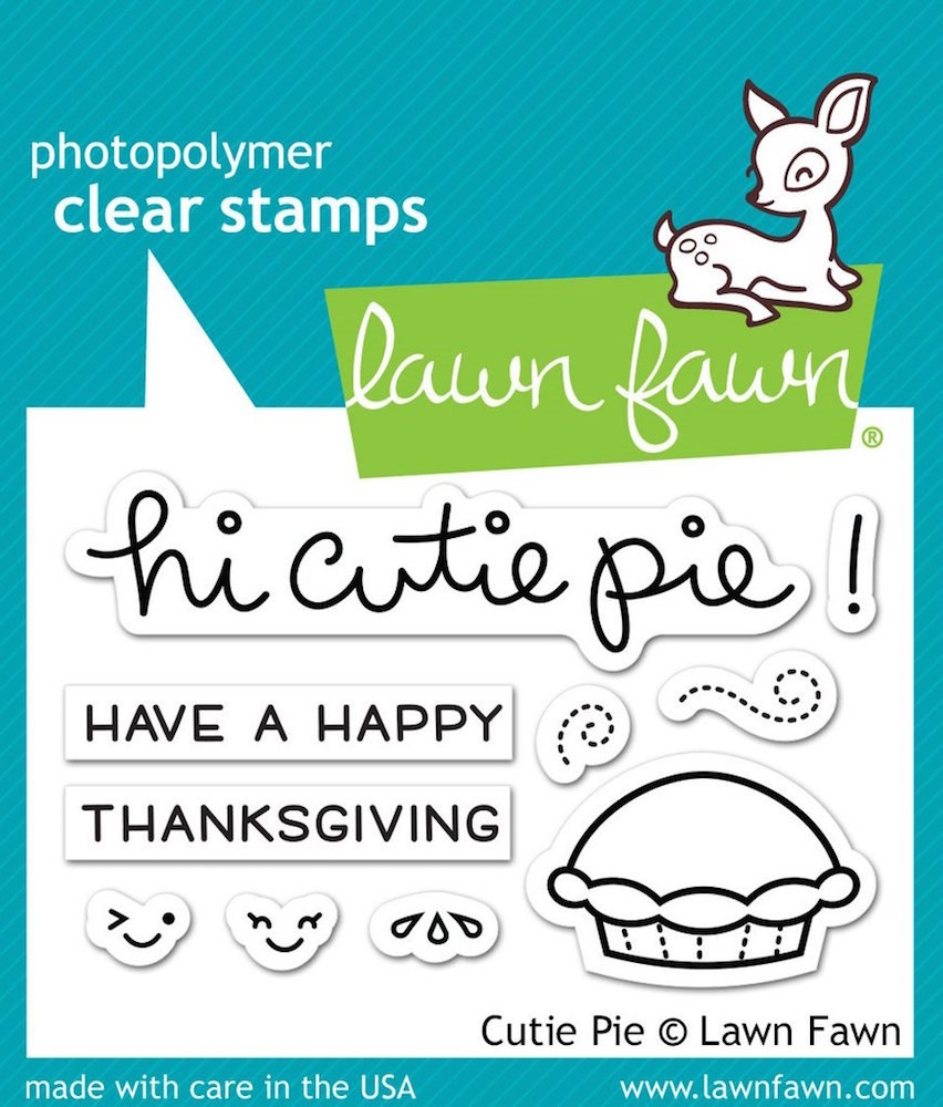 Lawn Fawn CUTIE PIE Clear Stamps LF1210 zoom image