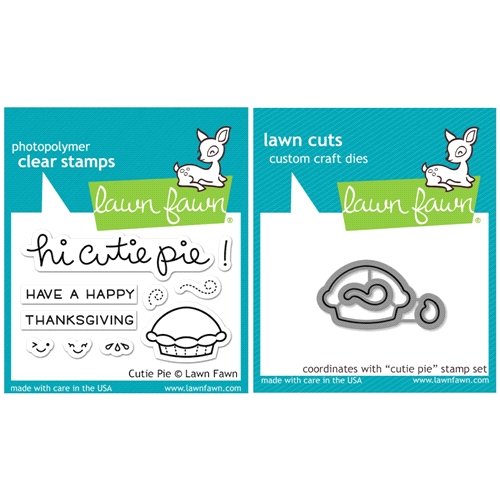 Lawn Fawn SET SULF16SETCP CUTIE PIE Clear Stamps and Dies Preview Image