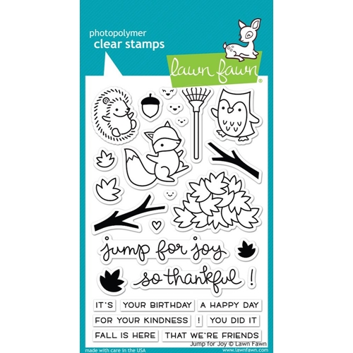 Lawn Fawn JUMP FOR JOY Clear Stamps LF1212 Preview Image