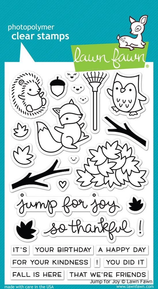 Lawn Fawn JUMP FOR JOY Clear Stamps LF1212 zoom image