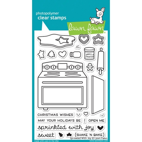 Lawn Fawn SPRINKLED WITH JOY Clear Stamps LF1214 Preview Image