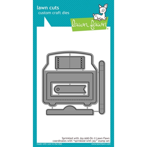 Lawn Fawn SPRINKLED WITH JOY ADD ON Lawn Cuts Dies LF1271 Preview Image