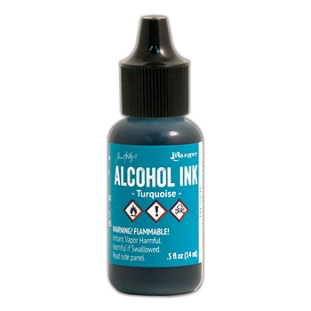 Tim Holtz Alcohol Ink TURQUOISE Ranger TAL52616