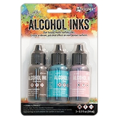 Tim Holtz Alcohol Ink Set RETRO CAFE Ranger TAK52562