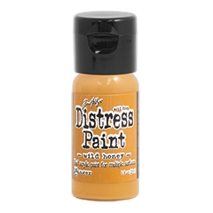 Tim Holtz Flip Top Distress Paint WILD HONEY Ranger TDF53385 zoom image
