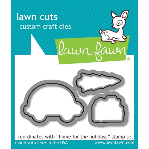 Lawn Fawn HOME FOR THE HOLIDAYS Lawn Cuts Dies LF1221 Preview Image