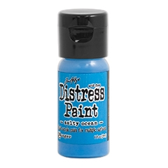 Tim Holtz Flip Top Distress Paint SALTY OCEAN Ranger TDF53224 zoom image