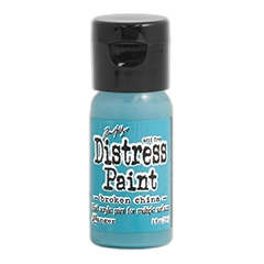 Tim Holtz Flip Top Distress Paint BROKEN CHINA Ranger TDF52944 zoom image