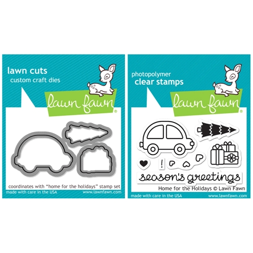 Lawn Fawn SET SULF16SETHFH HOME FOR THE HOLIDAYS Clear Stamps and Dies Preview Image