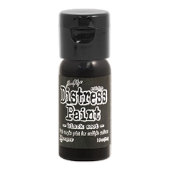 Tim Holtz Flip Top Distress Paint BLACK SOOT Ranger TDF52937