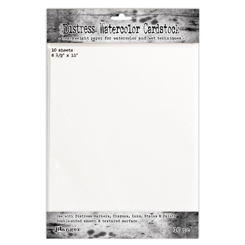 Tim Holtz 8.5 X 11 DISTRESS WATERCOLOR CARDSTOCK Ranger TDA53927 Preview Image