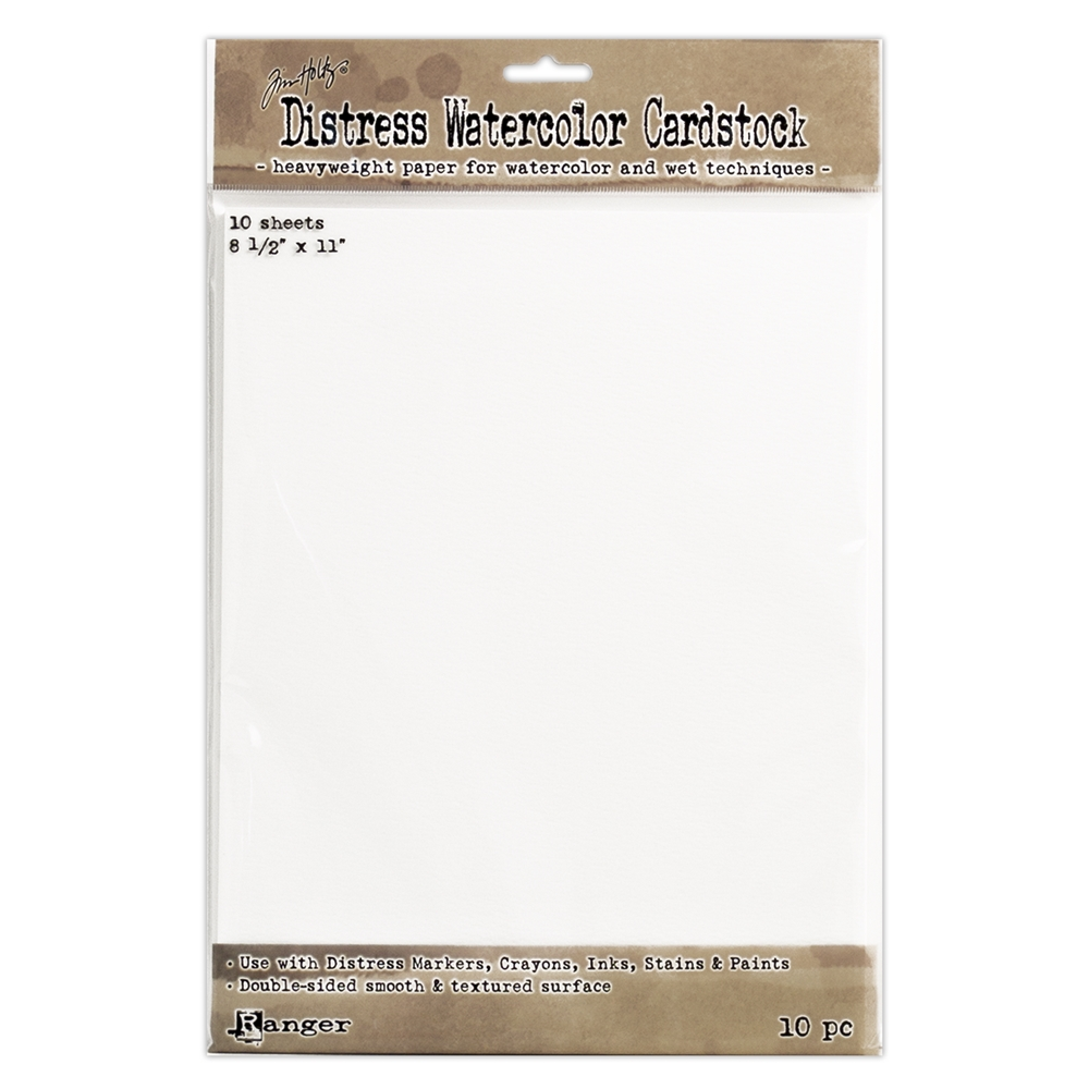 Tim Holtz 8.5 X 11 DISTRESS WATERCOLOR CARDSTOCK Ranger TDA53927 zoom image