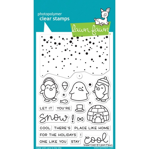Lawn Fawn SNOW COOL Clear Stamps LF1226 Preview Image