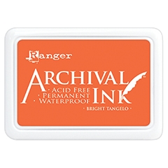 Ranger Archival Ink Pad BRIGHT TANGELO AIP52487