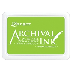 Ranger Archival Ink Pad VIVID CHARTREUSE AIP52531