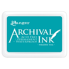 Ranger Archival Ink Pad PARADISE TEAL AIP52500 Preview Image