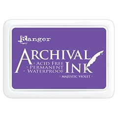 Ranger Archival Ink Pad MAJESTIC VIOLET AIP52494 Preview Image