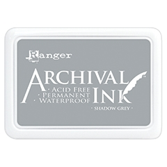 Archival Shadow Grey Ink Pad