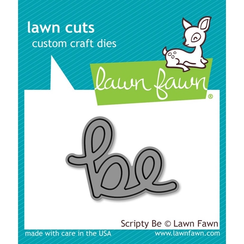 Lawn Fawn SCRIPTY BE Lawn Cuts Die LF1266 Preview Image