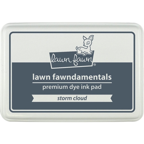 Lawn Fawn STORM CLOUD Premium Dye Ink Pad Fawndamentals LF1276 Preview Image