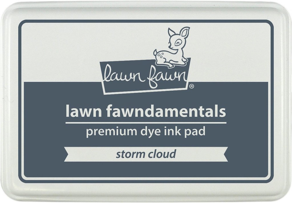 Lawn Fawn STORM CLOUD Premium Dye Ink Pad Fawndamentals LF1276 zoom image