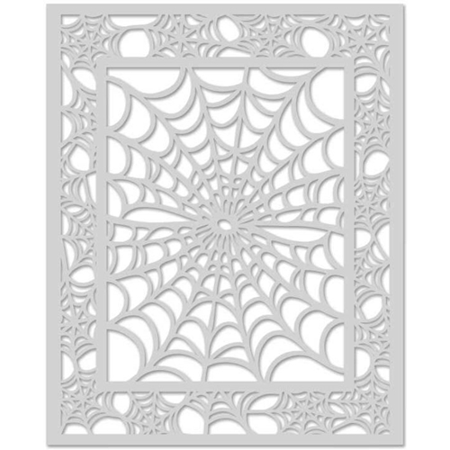Hero Arts Stencil SPIDER WEB SA081 Preview Image