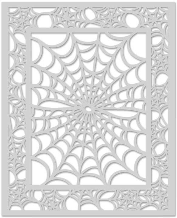Hero Arts Stencil SPIDER WEB SA081 zoom image