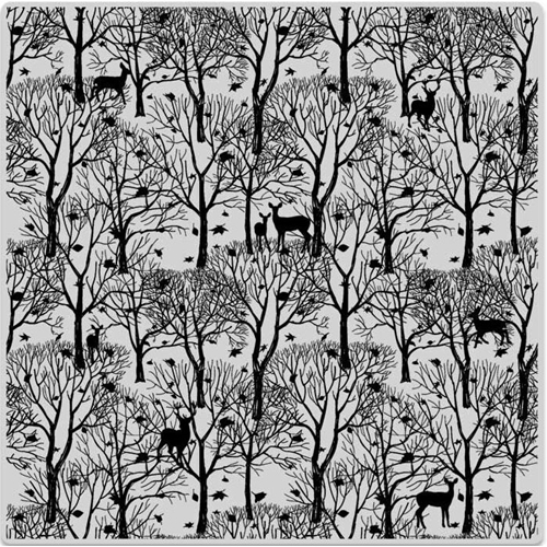 Hero Arts Cling Stamp FOREST AND DEER BOLD PRINTS CG700 Preview Image