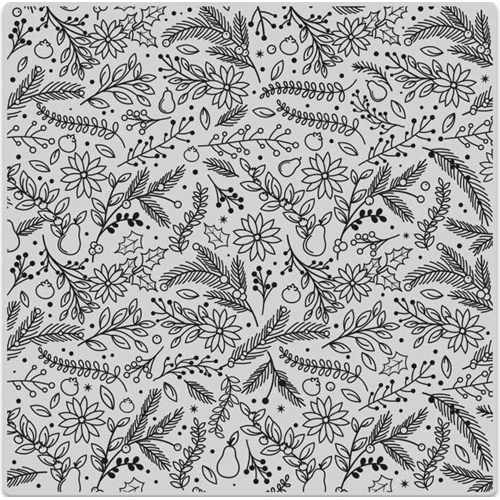 Hero Arts Cling Stamp HOLIDAY FLORALS BOLD PRINTS CG698* Preview Image