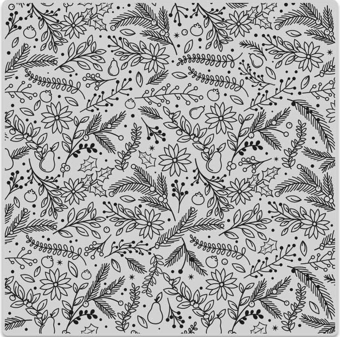 Hero Arts Cling Stamp HOLIDAY FLORALS BOLD PRINTS CG698* zoom image