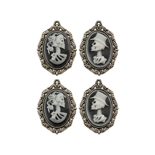 Tim Holtz Idea-ology CRYPT CAMEOS Findings th93967