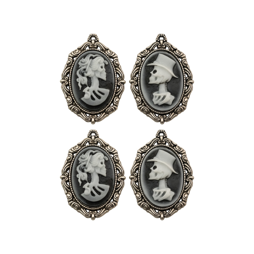Tim Holtz Idea-ology CRYPT CAMEOS Findings th93967 zoom image