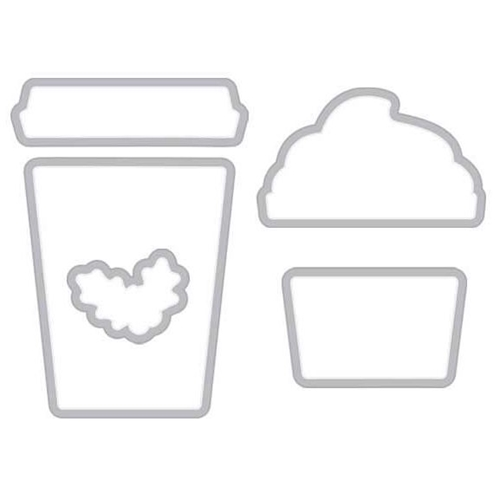 Hero Arts Frame Cuts Dies COFFEE CUP TAG DI307 Preview Image