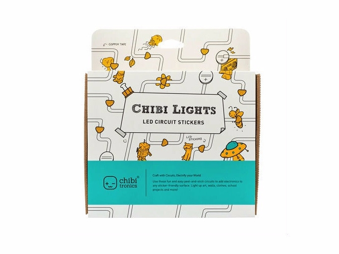 Chibitronics CHIBI LIGHTS LED CIRCUIT Starter Kit 668133 zoom image