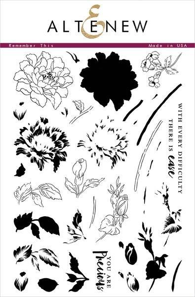 Altenew REMEMBER THIS Clear Stamp Set ALT1106* zoom image