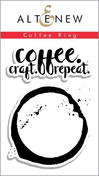 Altenew COFFEE RING Clear Stamp Set ALT1130 zoom image