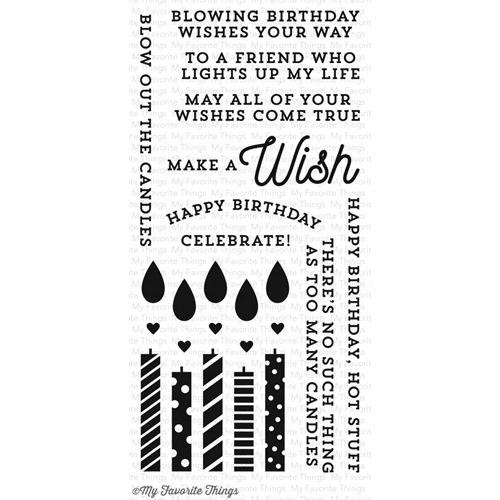 My Favorite Things MAKE A WISH Clear Stamps CS129 Preview Image