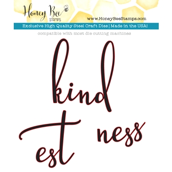 Honey Bee KINDNESS Dies HBDS-028