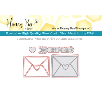 Honey Bee HAPPY MAIL Dies HBDS-012