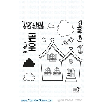 Your Next Stamp CUTE HOME Clear CYNS423