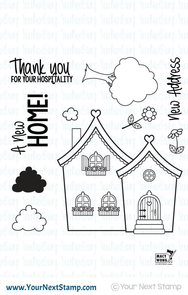 Your Next Stamp CUTE HOME Clear CYNS423 zoom image