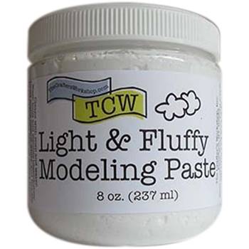 The Crafter's Workshop LIGHT AND FLUFFY MODELING PASTE TCW9004
