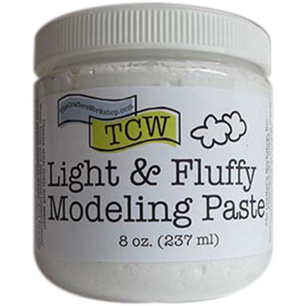 The Crafter's Workshop LIGHT AND FLUFFY MODELING PASTE TCW9004 zoom image