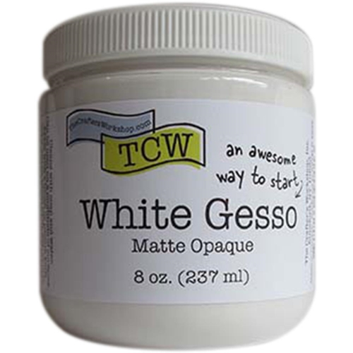 The Crafter's Workshop WHITE GESSO Matte Opaque TCW9001 Preview Image