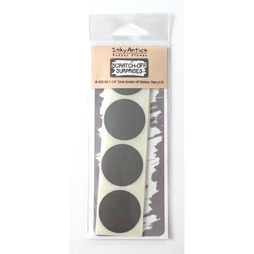 Inky Antics 1.25 INCH CIRCLE Scratch Off Stickers IASOS104 Preview Image