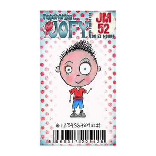 Paper Artsy JOFY MINI 52 Rubber Cling Stamp JM52* zoom image