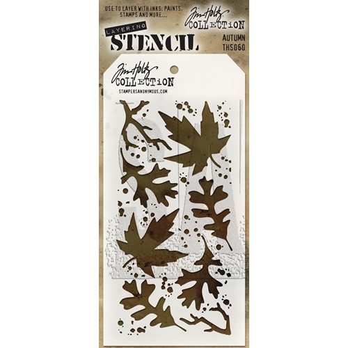 Tim Holtz Layering Stencil AUTUMN THS060 Preview Image