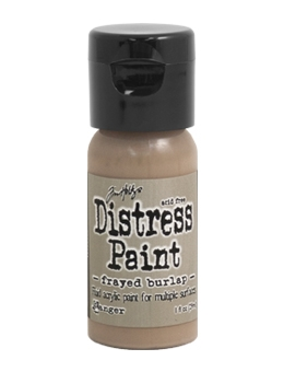 Tim Holtz Flip Top Distress Paint FRAYED BURLAP Ranger TDF53071 Preview Image