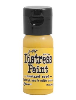 Tim Holtz Flip Top Distress Paint MUSTARD SEED Ranger TDF53125 Preview Image